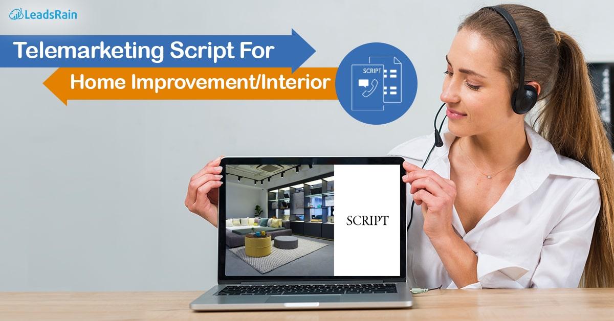 Telemarketing Script for Home Improvement