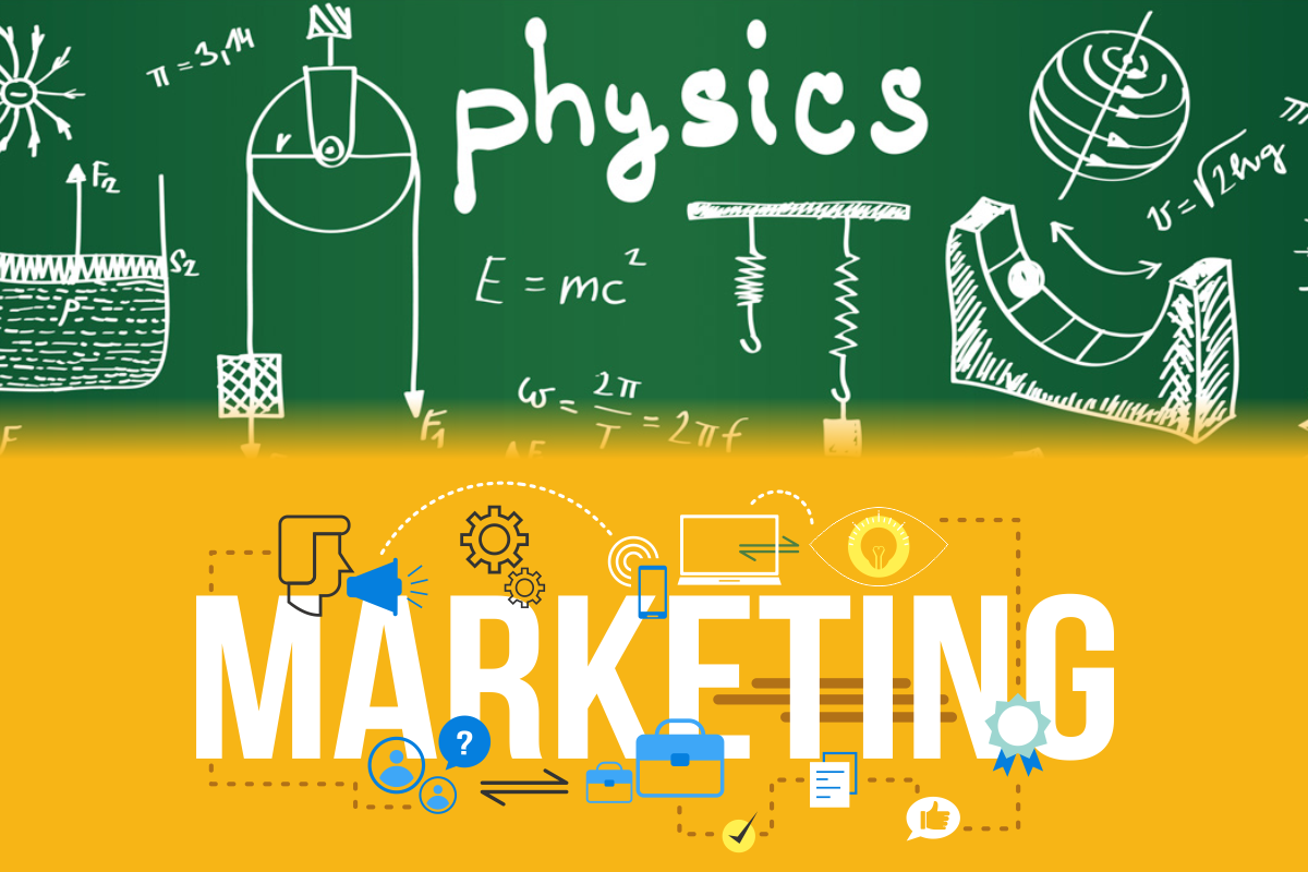 physics vs marketing