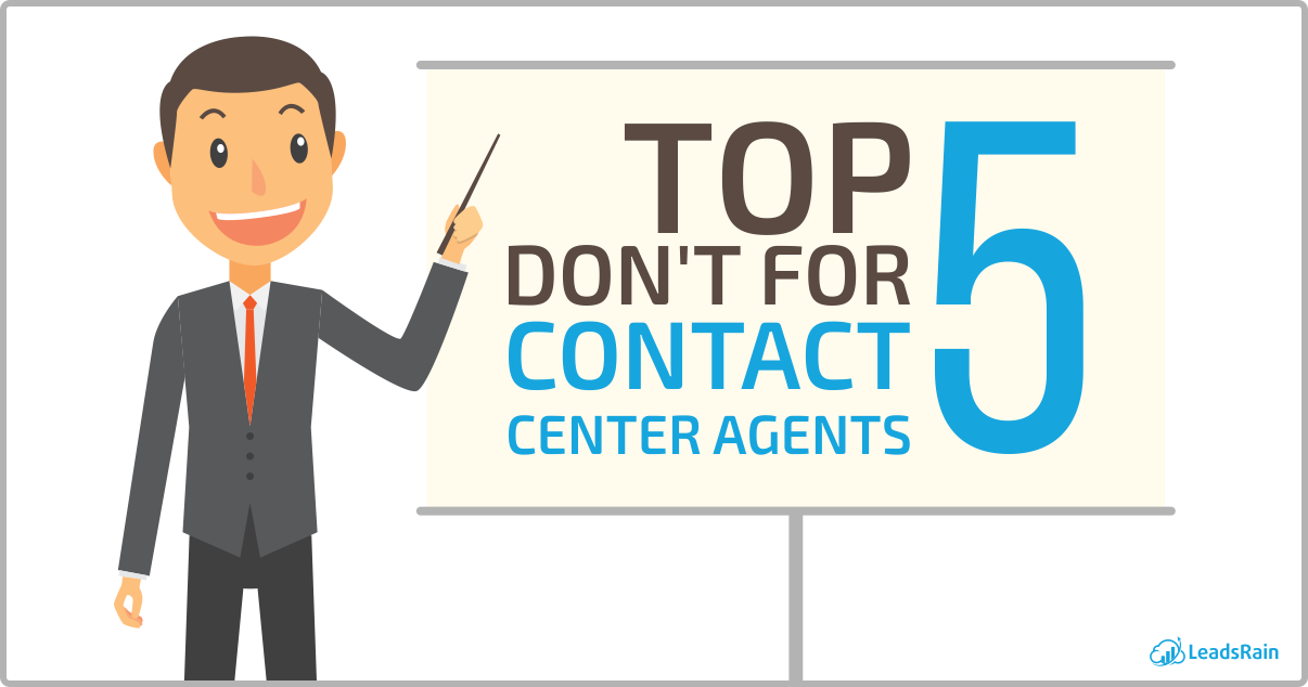 Top 5 Don't for Contact Center Agents-0