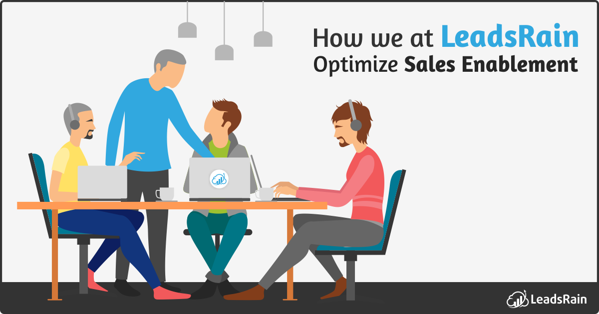 How We At Leadsrain Optimize Sales Enablement Leadsrain