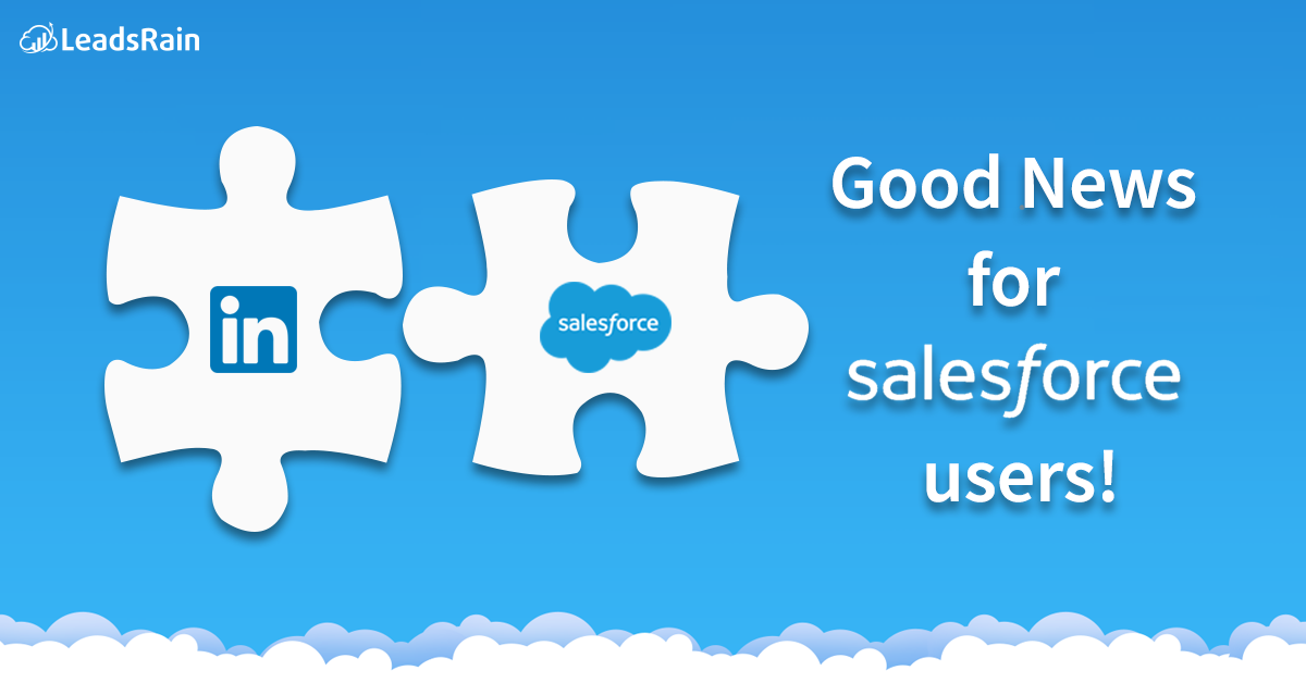 Get new leads added to your Salesforce account easily