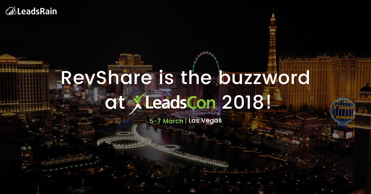 Revshare Is The Buzzword At Leadscon 2018 Leadsrain