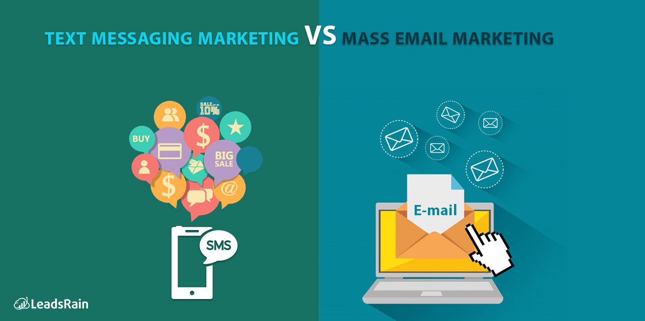 Text Messaging Marketing VS Mass Email Marketing