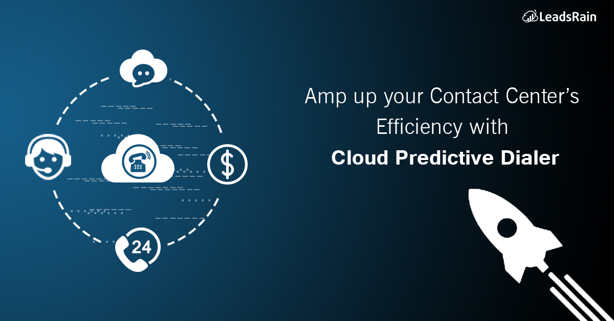 Amp up your Contact Center's efficiency with Cloud Predictive Dialer