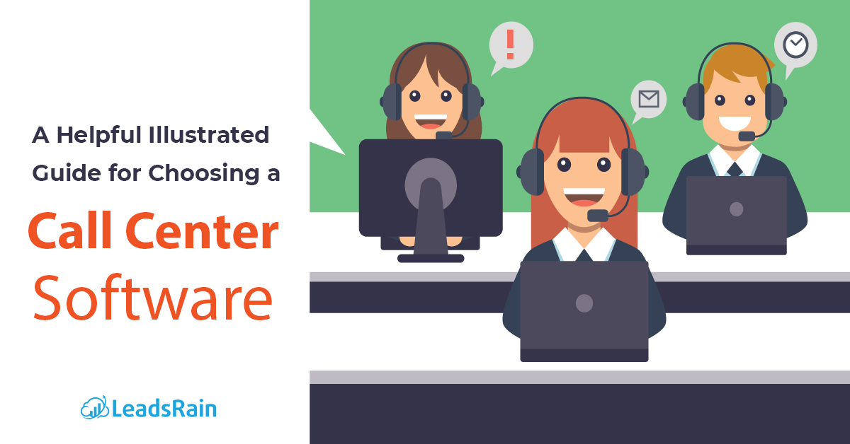 A Helpful Illustrated Guide for Choosing a Call Centre Software