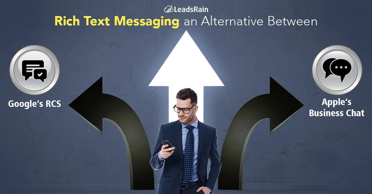 Rich Text Messaging an Alternative Between Google's RCS vs. Apple's Business Chat