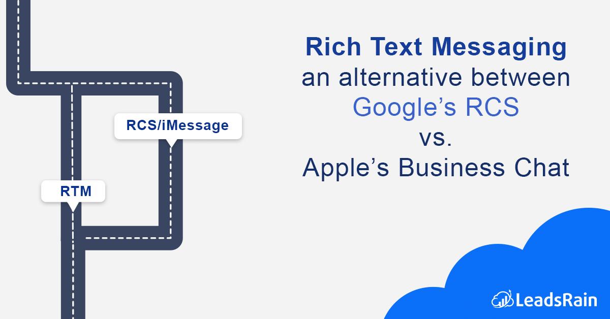 Rich Text Messaging an Alternative Between Google's RCS vs  Apple's