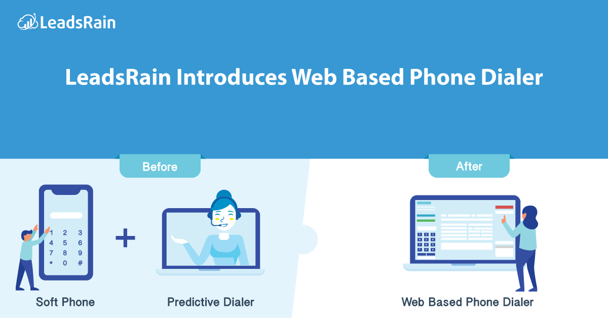 LeadsRain Introduces Web Based Phone Dialer