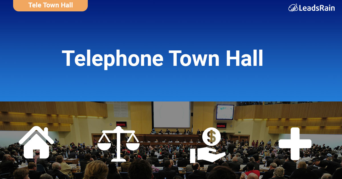 What is Tele Town Hall Meetings