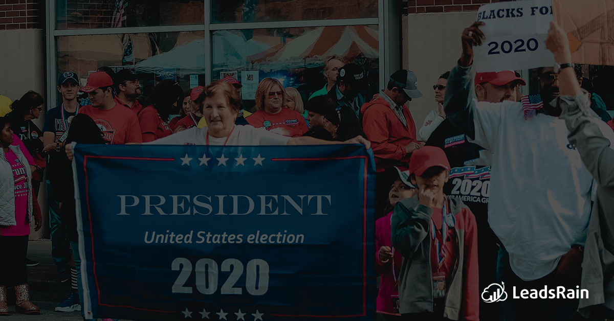 Marketing Strategy for Presidential Election campaign 2020