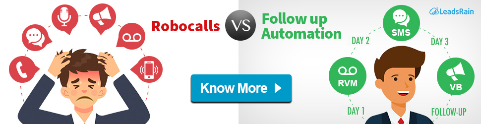 Follow-up Automation with SMS, Call & Email
