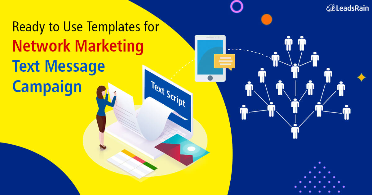 Ready to Use Templates for Network Marketing Text message Campaign