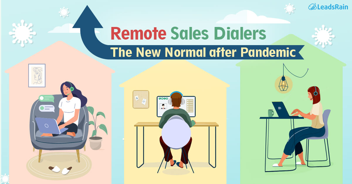 Rise of Remote Sales Dialers for Outbound Sales