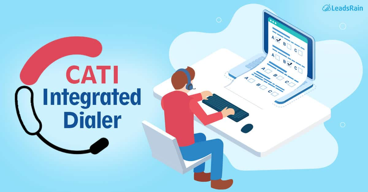 What is a CATI integrated Dialer